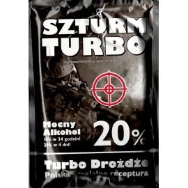 Drożdże gorzelnicze - SZTURM TURBO 20%