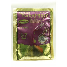 DROŻDŻE TURBO FRUIT YEAST