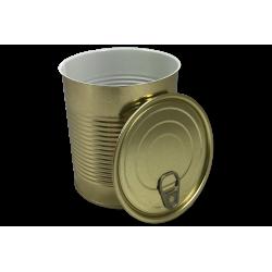 Puszka konserwowana emaliowana 850 gramów