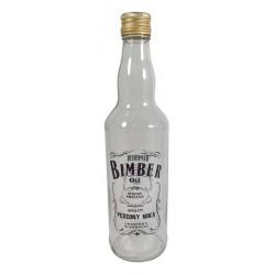 Butelka Monopol 500ml z nadrukiem bimber