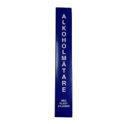 ALKOHOLOMIERZ Z MENZURKĄ 0-100% - SZWEDZKI