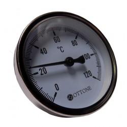 Termometr tarczowy FERRO 0-120*C