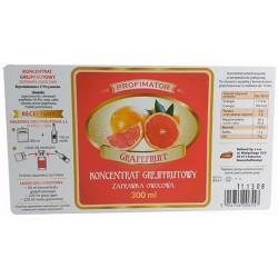 Koncentrat Owocowy GREJPFRUTOWY Likier Nalewka 300 ml