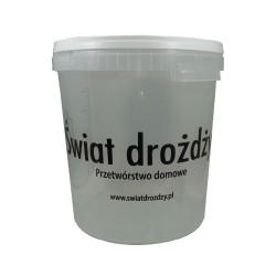 Pojemnik fermentacyjny przeźroczysty 30 l z podziałką   piwo, wino