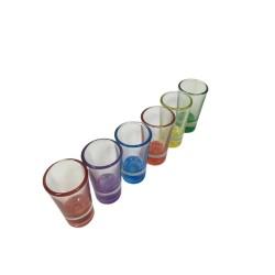 Kieliszki kolorowe 6 x 25ml