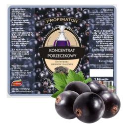 Koncentrat owocowy czarna porzeczka likier nalewka 1 kg