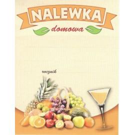 Etykieta - NALEWKA OWOCE