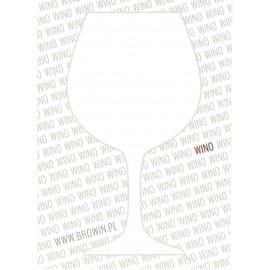 Etykieta Domowe Wino 12 Szt świat Drożdży Sc