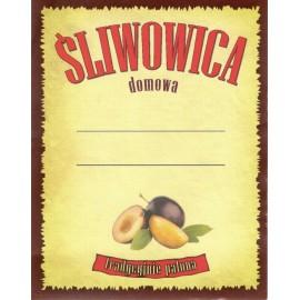 Etykieta - ŚLIWOWICA