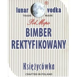 Etykieta - BIMBER REKTYFIKOWANY KSIĘŻYCÓWKA