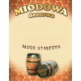Etykieta - MIODOWA DOMOWA